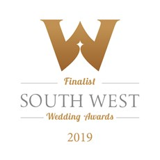 South West Wedding Awards Finalist 2019